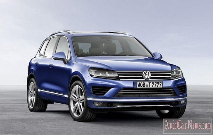 New 2015 Volkswagen Touareg Photo