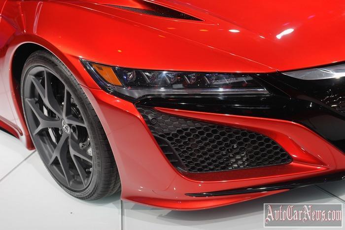 2016 Acura NSX Detroit Photo