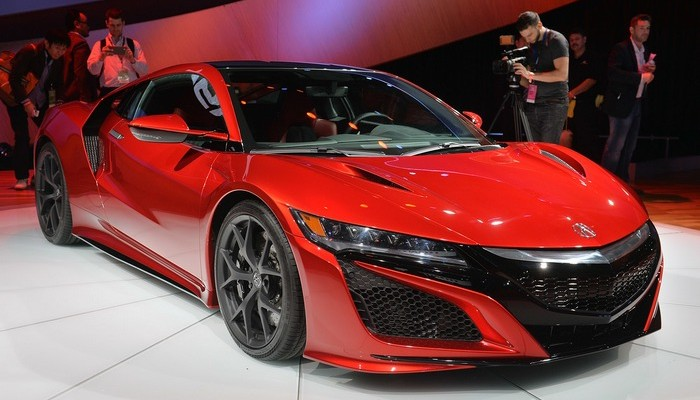 2016 Acura NSX Detroit Photo