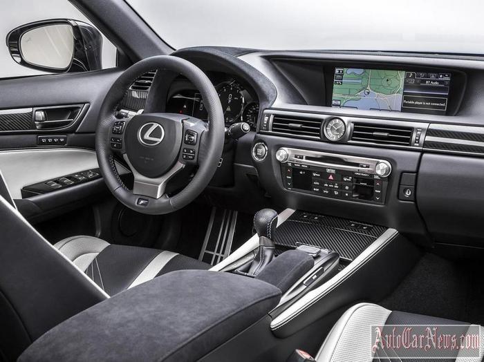 2016 Lexus GS F Detroit Photo