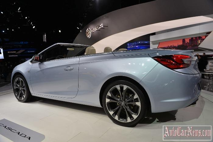 2016 Buick Cascada convertible photo