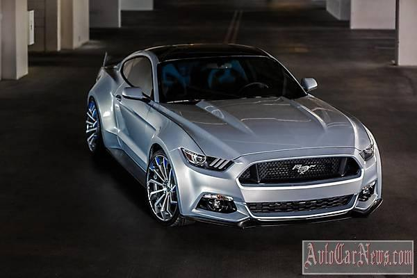2014 Ford Mustang Forgiato SEMA фото
