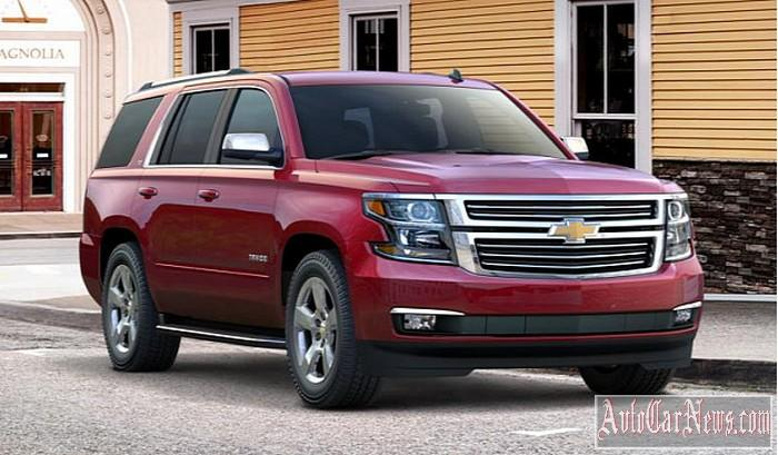 New 2015 Chevrolet Tahoe Photo