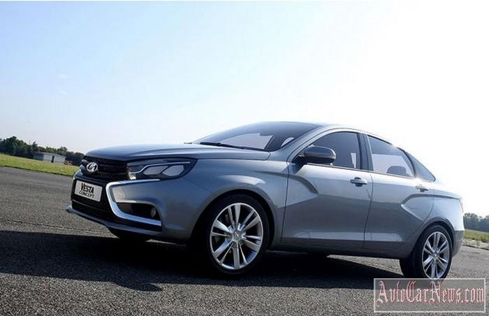 New 2015 Lada Vesta Photo