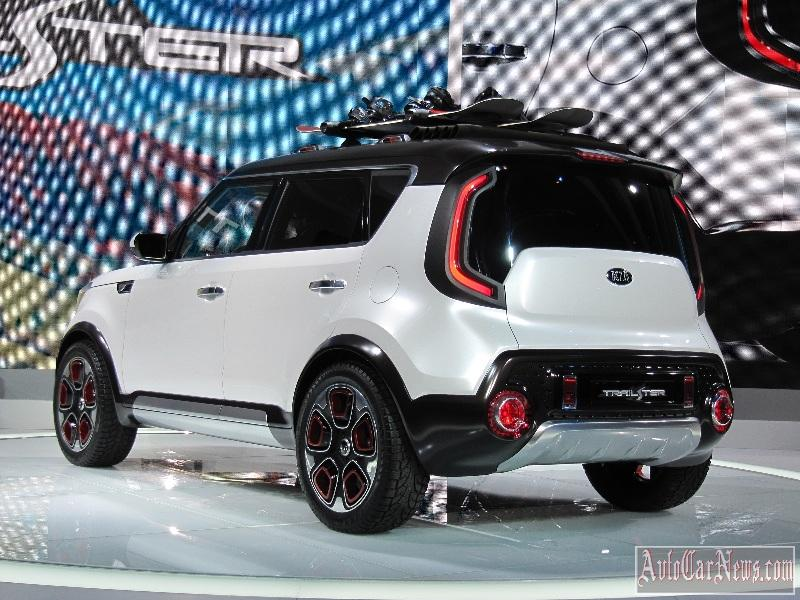 2015 Kia Trail'ster e-AWD Concept Photo
