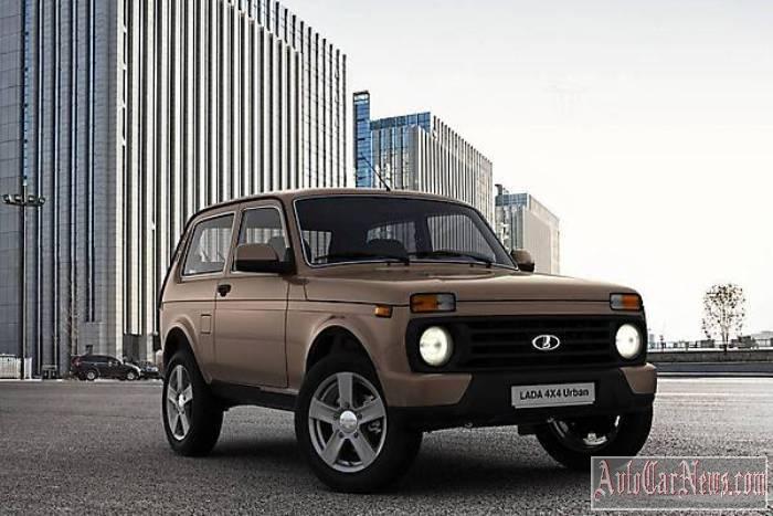 Новый Lada 4x4 Urban 2015 фото