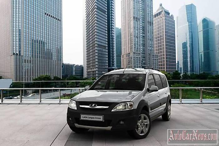 Lada Largus Cross 2015 New foto