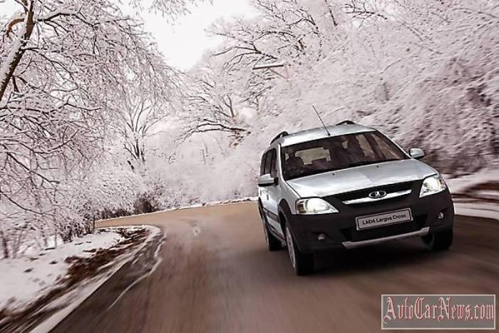 New Lada Largus Cross 2015 Photo