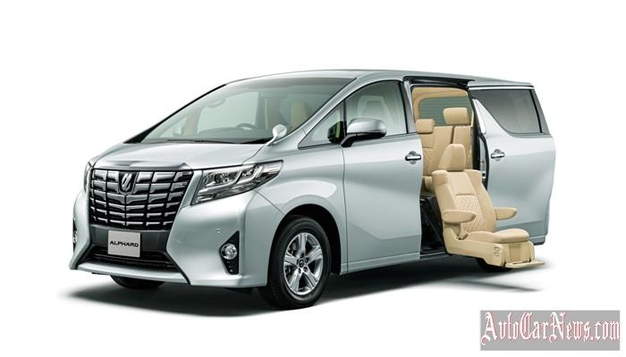 2015 Toyota Alphard Photo