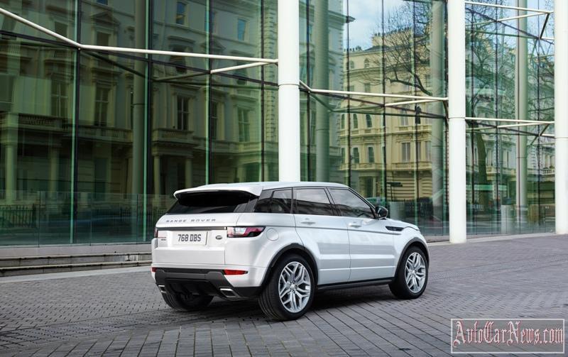 2016 Range Rover Evoque Photo