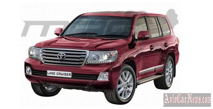 New Toyota Land Cruiser 200 2015 Photo