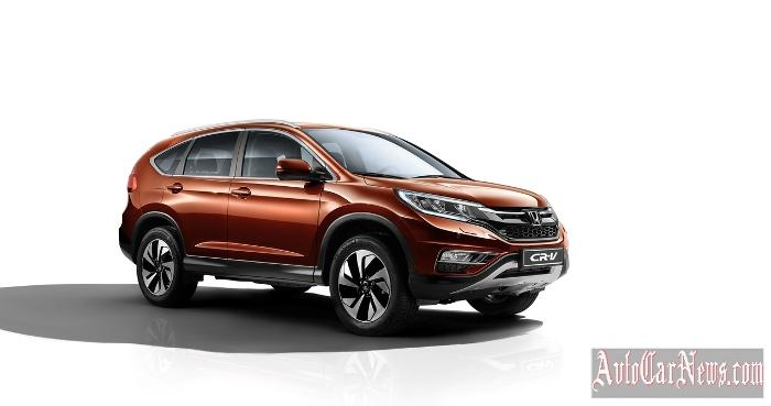 New Honda CR-V 2015 Photo