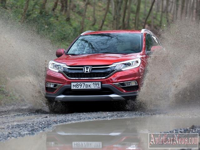New Honda CR-V 2015 Photos