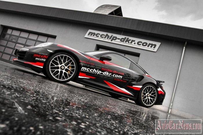 2015 Pporsche 911 Turbo S ot mcchip-dkr Photo