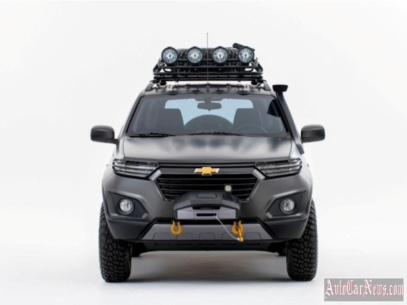 2016 Шевроле Нива Прототип фото