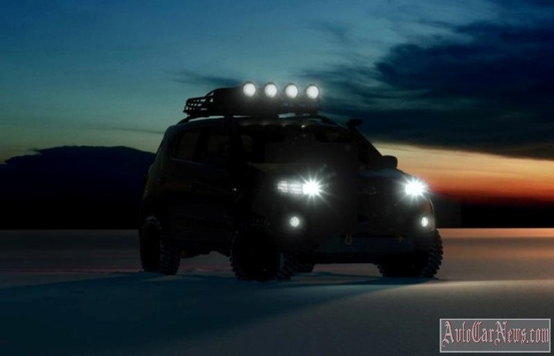 Новая Niva Chevrolet 2018 Фото, цена и технические