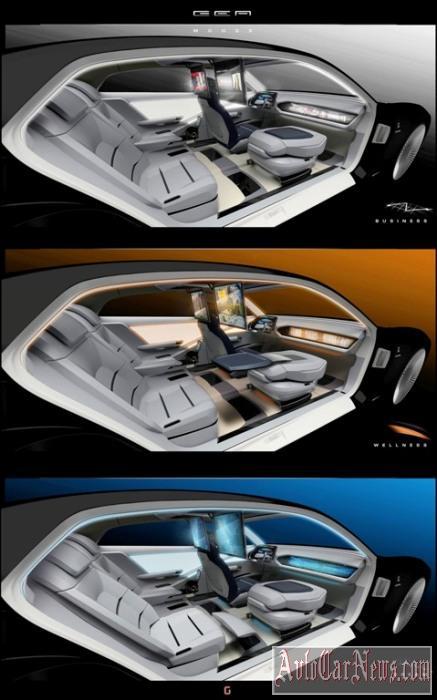 Italdesign Giugiaro GEA Concept Foto