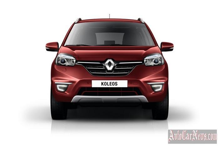 Renault Koleos 2015 фото новый