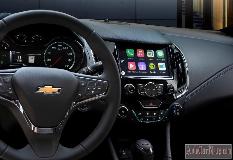 2016 Chevrolet Cruze steering wheel