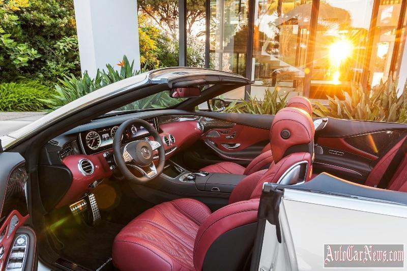 Mercedes-Benz S-Class Cabriolet (A 217) 2016