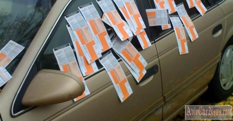 Штраф за неправильную парковку сумма