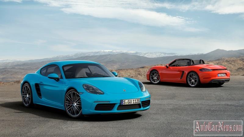 Porsche 718 Cayman S und 718 Boxster S