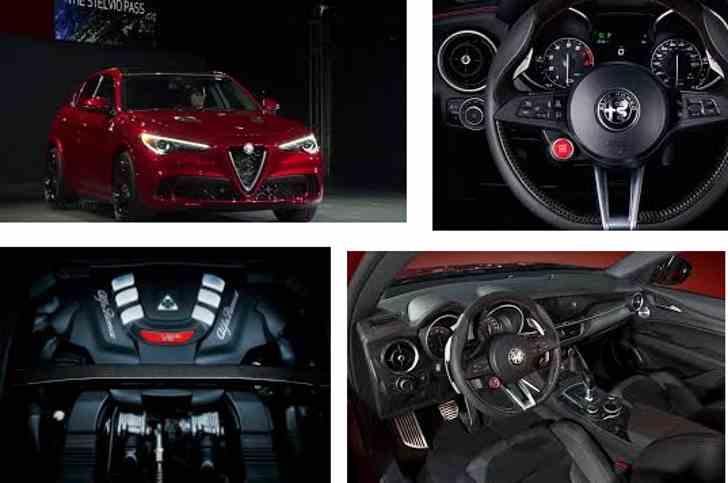 2018 Alfa Romeo Stelvio: версия 505-HP кузов