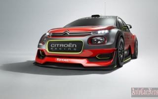 В Париже Citroen покажет прототип спорткара C3 WRC 2017