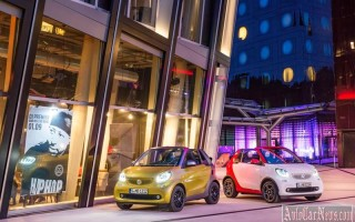 Новая модель Smart Fortwo Cabrio 2016 -2017