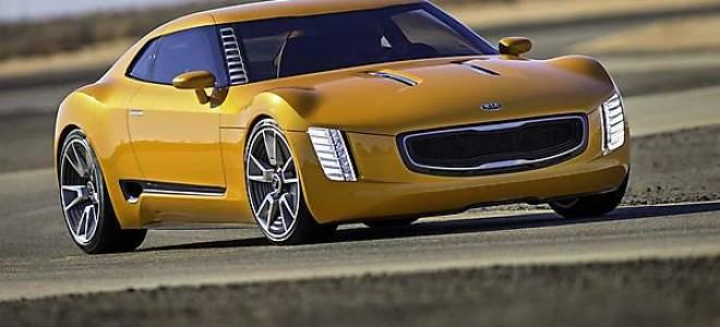 Удивительный спорткар Stinger GT4 Concept от Kia
