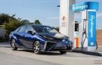 Японцы презентовали свой первый водородный седан Toyota Mirai