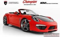 Спорткар Porsche 911 Carrera от тюнинг ателье TopCar