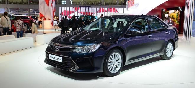 Toyota Camry 2015 мод. года оценена в один миллион рублей