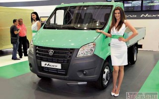 Микрогрузовичок Газель NEXT получил бензиновый турбомотор