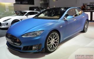 Франкфурт 2015 – электромобиль Tesla Model S от ателье Brabus