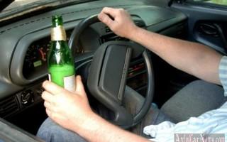 С 1 июля за вождение в пьяном виде водителям грозит «решетка»