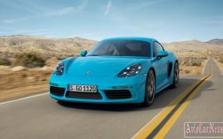 2016 Porsche 718 Cayman – объявлена цена для рынка России