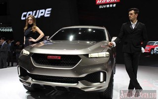 Пекин 2014 – new crossover Haval Coupe 2015 от Great Wall