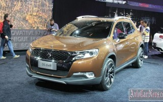 Пекин 2014 – new crossover Citroen DS 6WR 2015