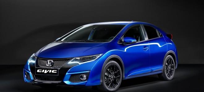 Компания Honda представила модель Civic Sport 2015 мод. года