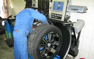 Балансировка колес автомобиля