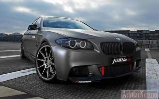 Уникальный BMW 550i 2015 от ателье PP-Performance и Fostla