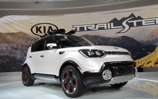 Чикаго 2015 – гибридный кроссовер Kia Trail'ster e-AWD Concept