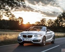 Новый кабриолет из семейства 2-Series BMW Convertible 2015
