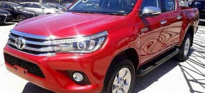 Японцы презентовали новый пикап Toyota Hilux 2016