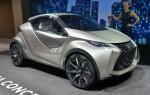 Компактный 2015 LF-SA от Lexus вместит четыре человека