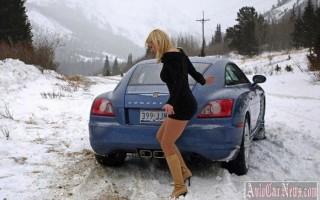 Советы новичкам – езда по-зимнему или вождение зимой
