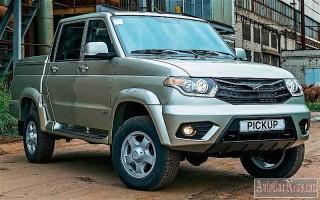 Новая модель УАЗ Патриот pickup или вторичный рынок пикапов