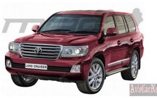 Внедорожник Land Cruiser 200 от Toyota получит обновления