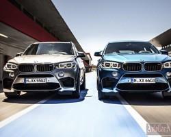 BMW опубликовала информацию о внедорожниках X5 M и X6 M 2015
